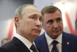 Президент России встретился с туляками в «Ясной Поляне».